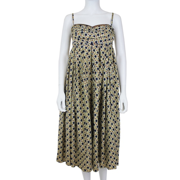 Sleeveless A Line Dress Marni Cheap Wiki 100% Original Buy Cheap Fashion Style Clearance Collections nszShy